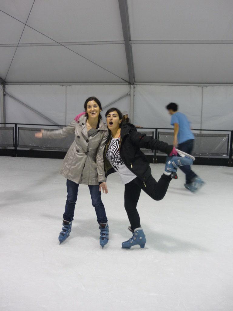 Ángela & Me. Nacidas pa patiná!